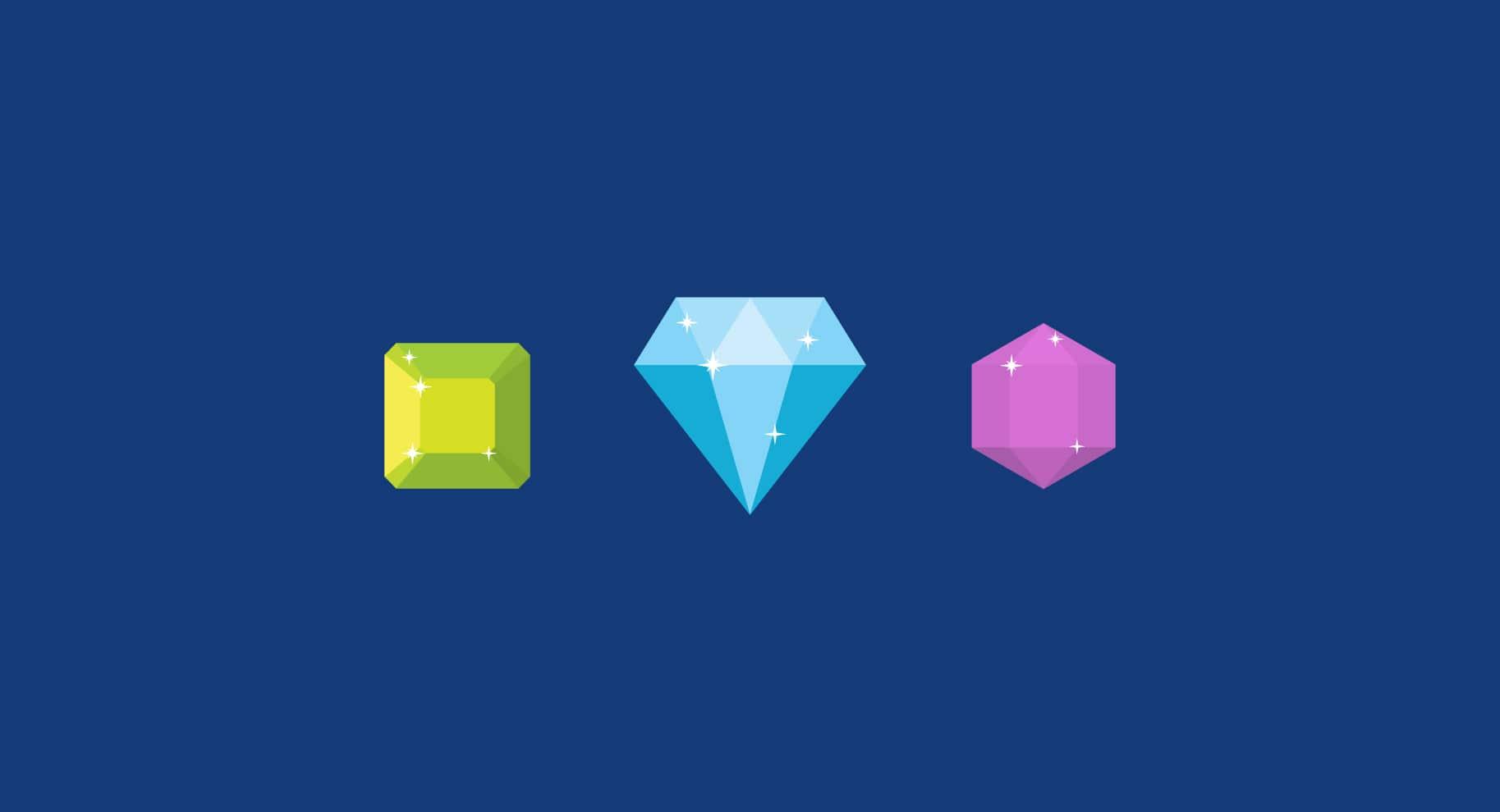 diamond alternatives illustration