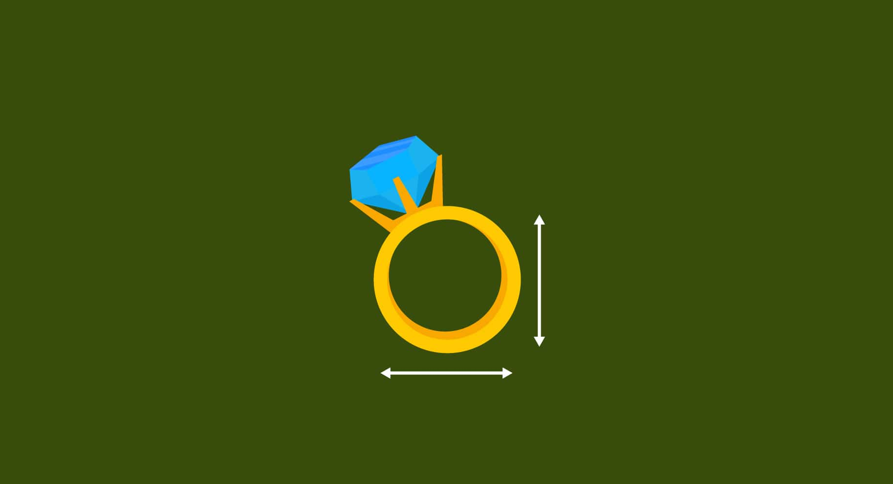 Engagement Ring Resizing illustration