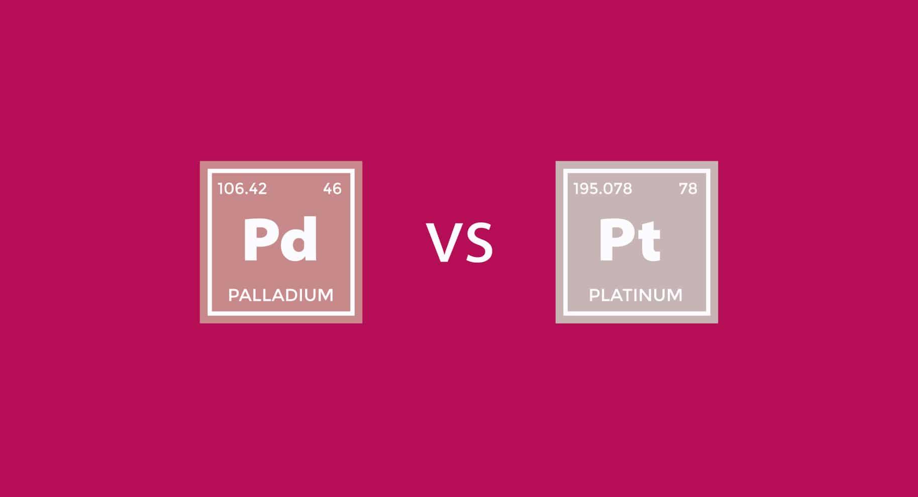 Platinum vs Palladium illustration