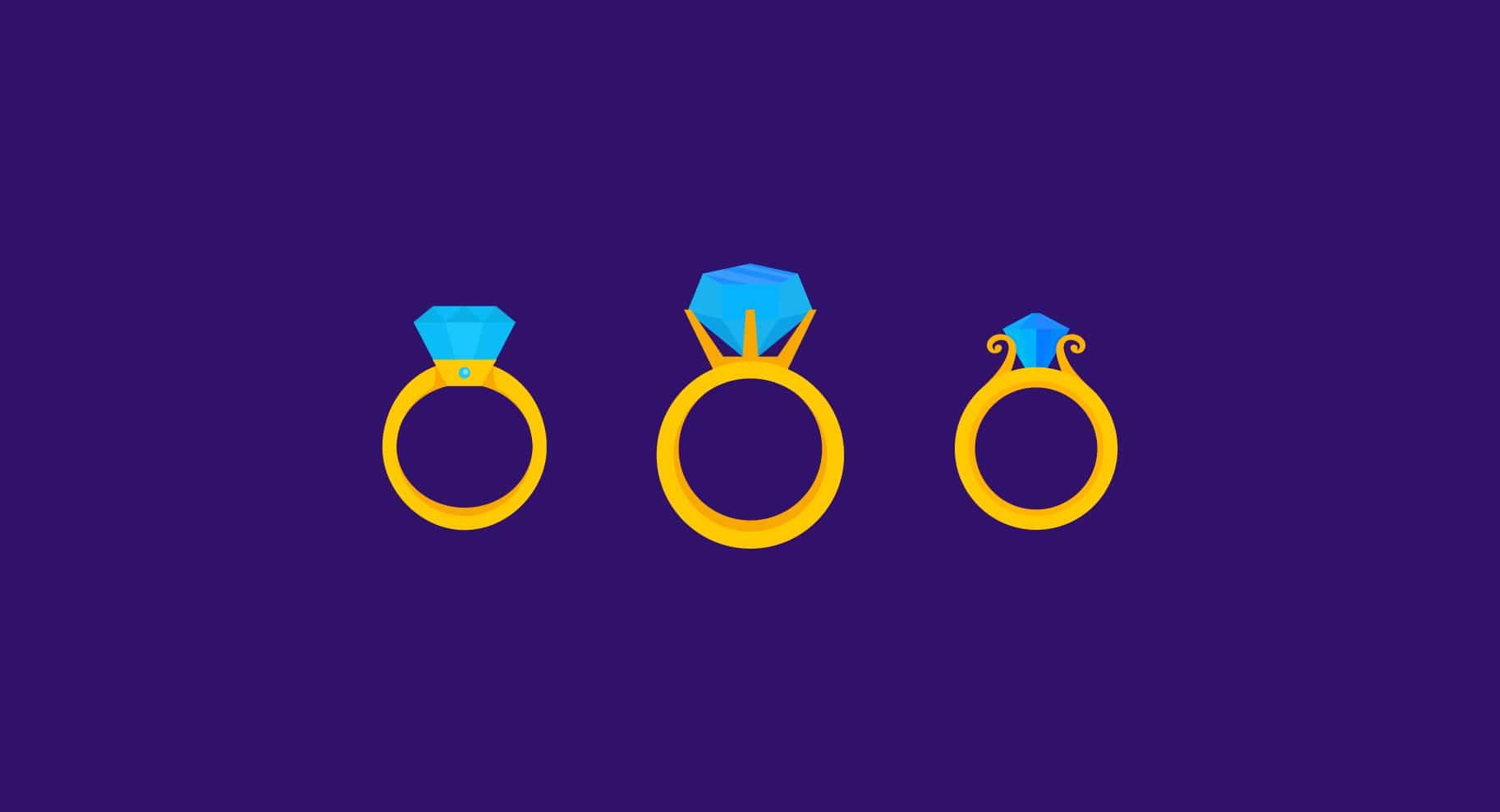 Popular Engagement Ring Settings