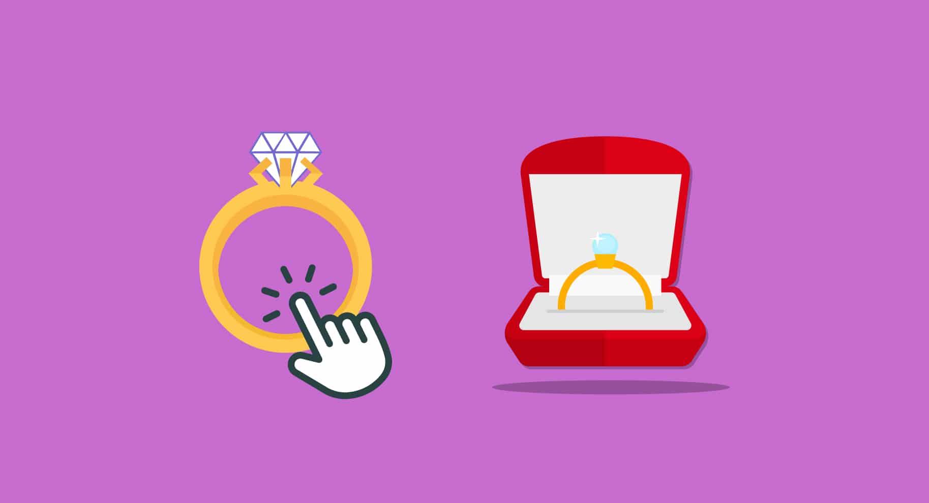 should I buy an engagement ring online illustration