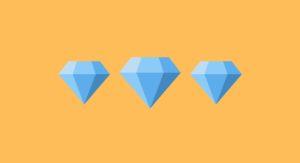 average diamond size illustration