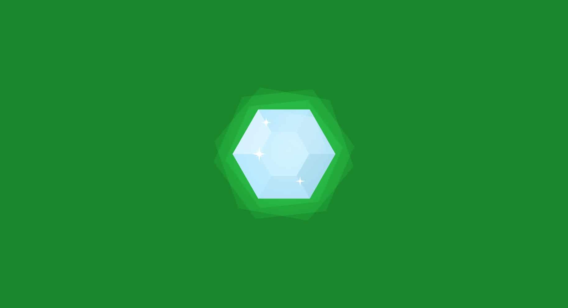 diamond fluorescence illustration