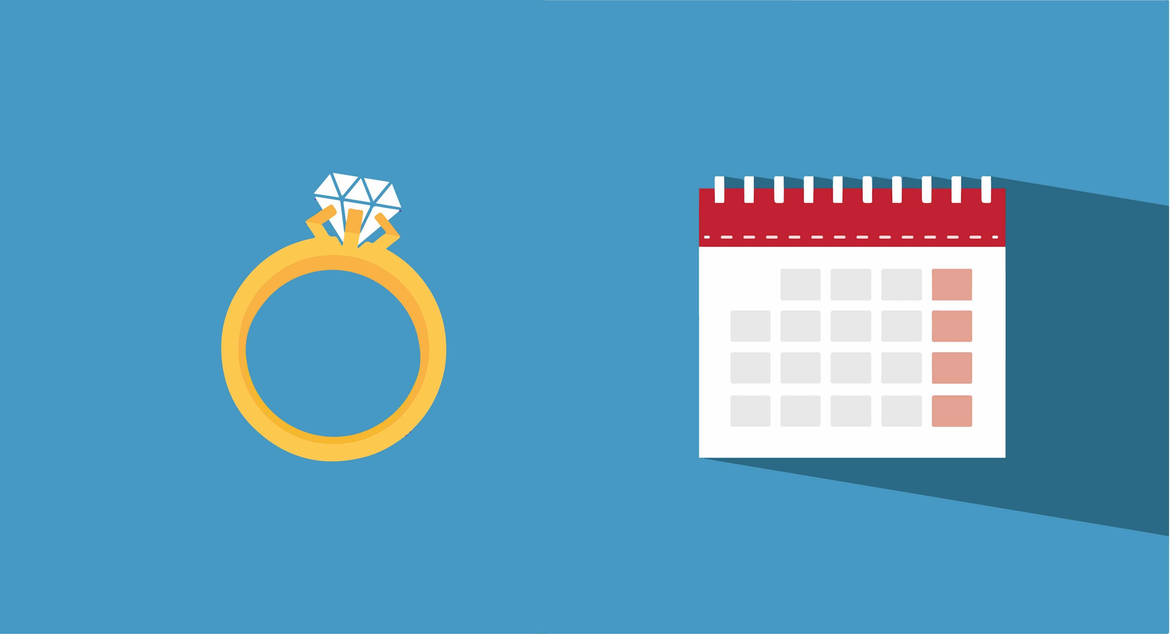 engagement ring time illustration