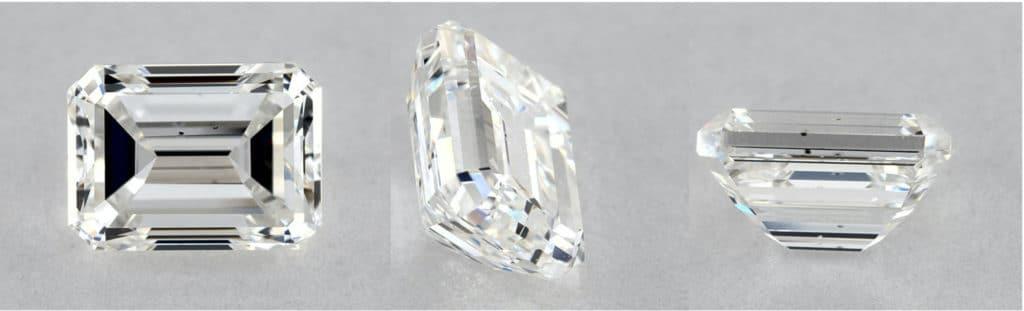 james allen emerald cut diamond