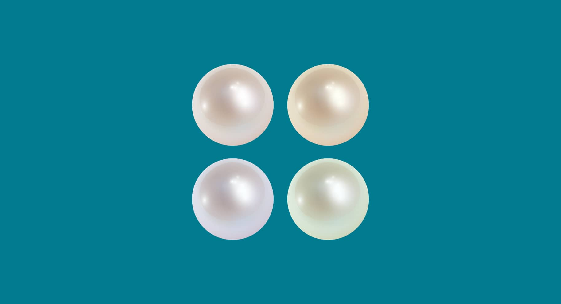pearl colors illustration