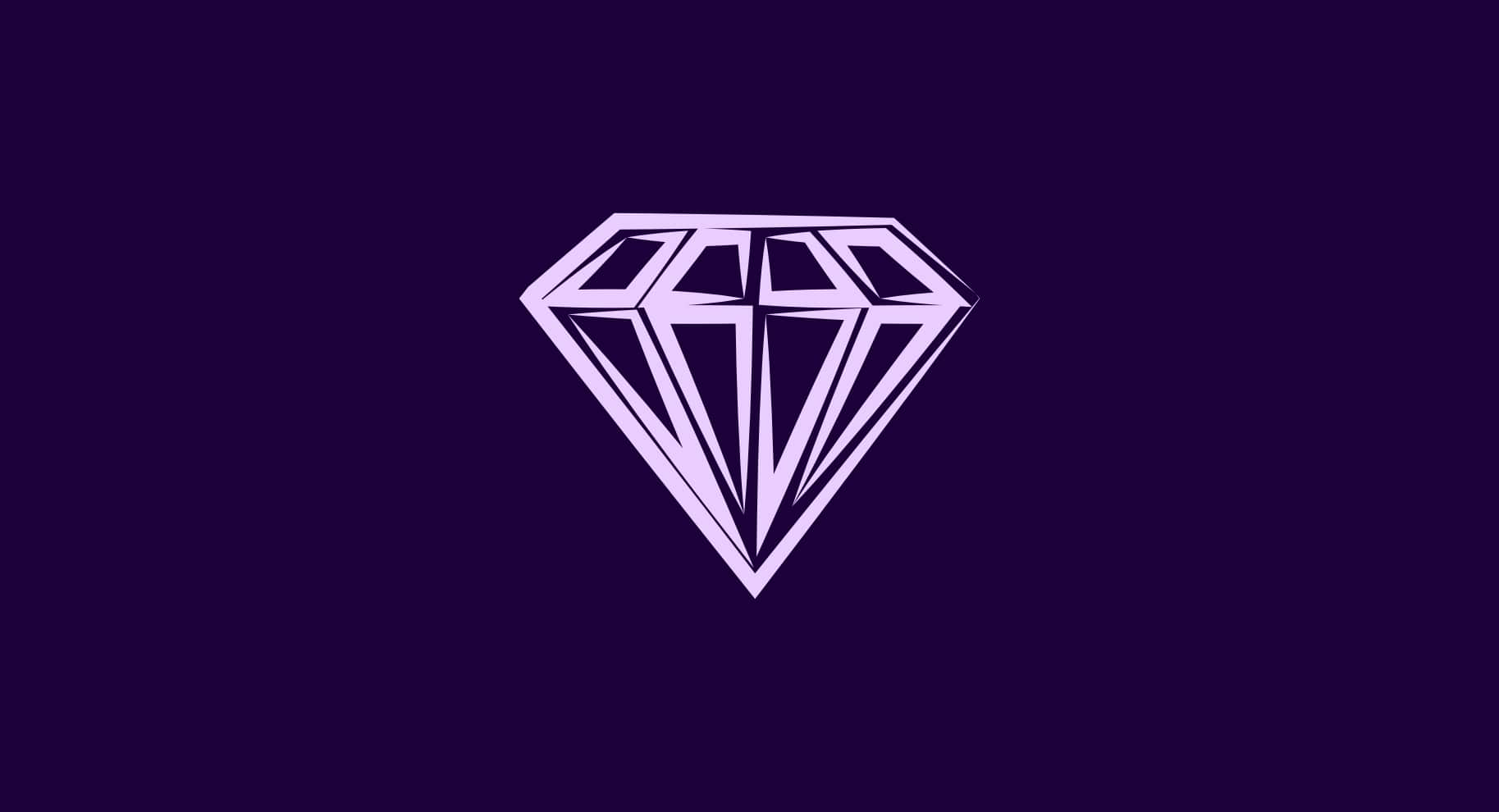 purple gemstone illustration