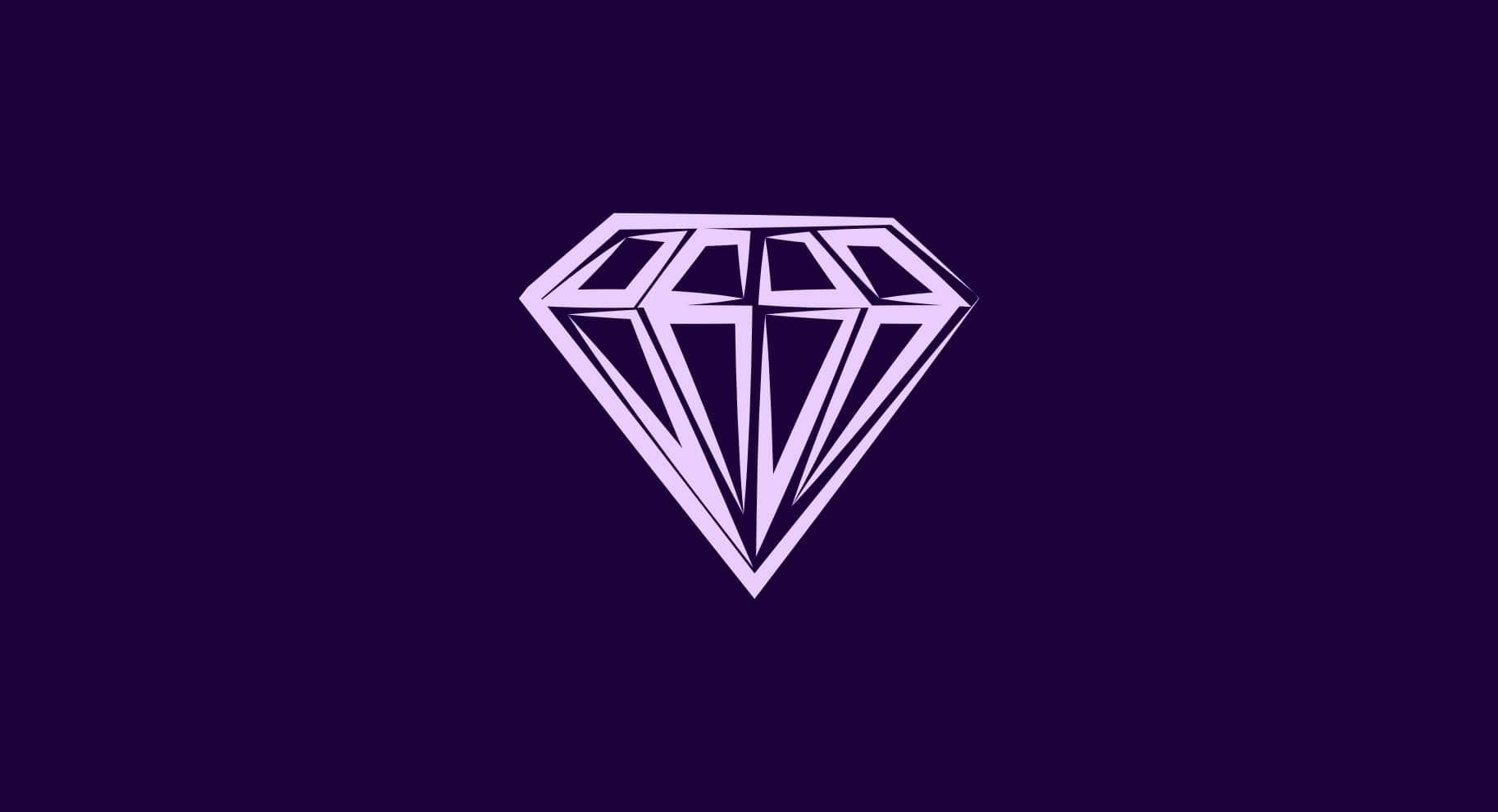 purple gemstone illustration