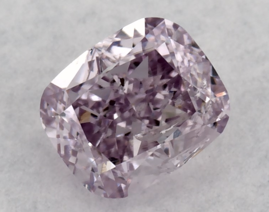 purple diamond from James Allen